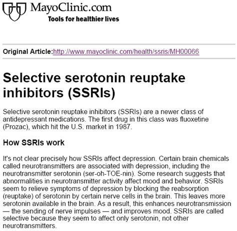Detox Symptoms Mayo Clinic by Lexapro Withdrawal Symptoms Mayo Clinic Atarax Solution