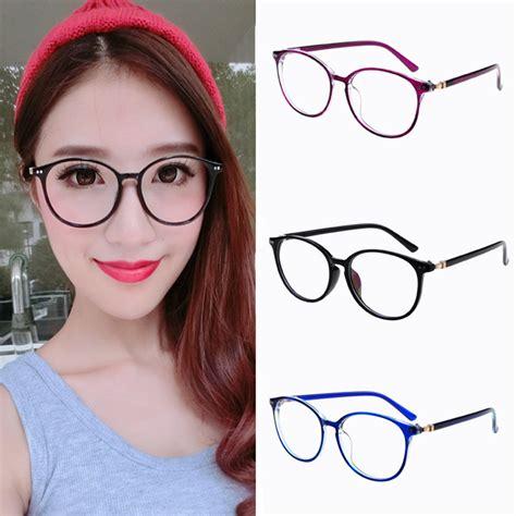 Kacamata Frameless Transparent Sunglasses Okt223 new arrival oval eyeglasses frame high grade
