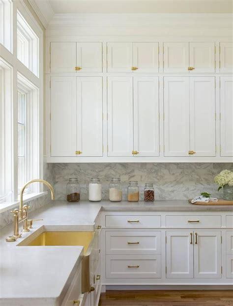 white kitchen cabinets with gold hardware best 25 kitchen cabinets ideas on b q
