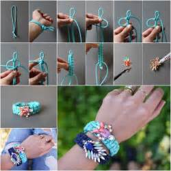 How To Make Macrame Bracelets Step By Step - wonderful diy unique macrame beaded bracelet