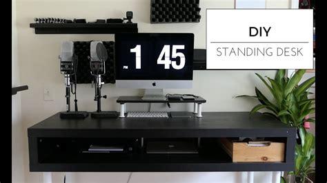 diy standing desk ikea 110 diy standing desk ikea hack
