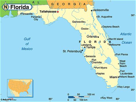 map of florida lakes and rivers florida history notebook simplebooklet