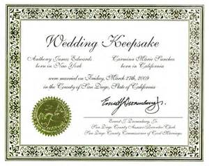 keepsake marriage certificate template decorative wedding anniversary and birth keepsakes