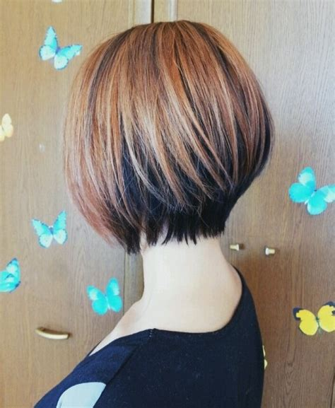 bob haircuts front and back 2014 short hair longer in front short hairstyle 2013
