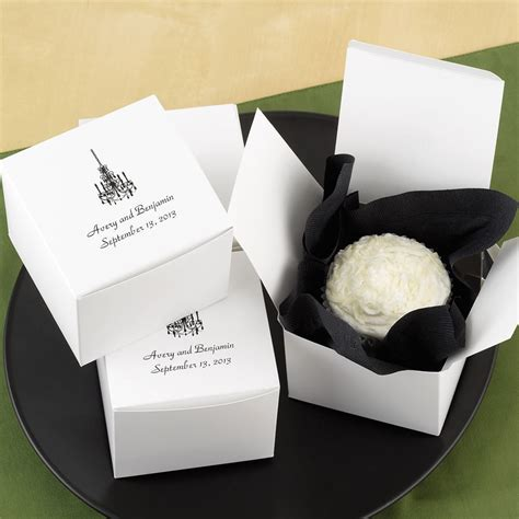 wedding cake boxes pictures personalized cake box top personalization invitations by