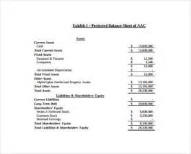 Template Balance Sheet by Balance Sheet Templates 12 Free Sle Exle Format Free Premium Templates