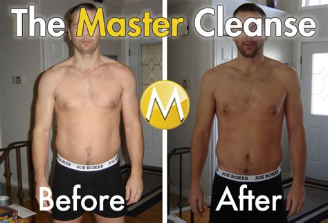 10 Day Lemon Detox Results by Master Cleanse Before And After