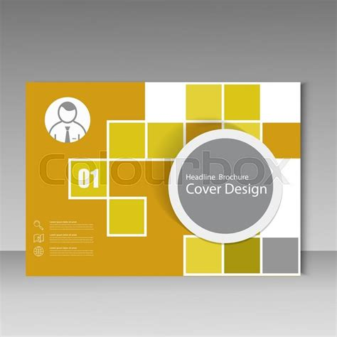 book cover design templates vector annual report brochure template design book cover