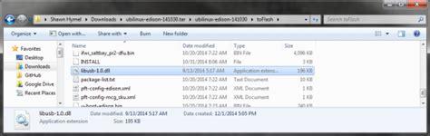 Linux Libusb Tutorial | loading debian ubilinux on the edison learn sparkfun com