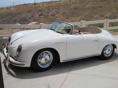 porsche speedster kit car porsche 356 speedster kit car white with car