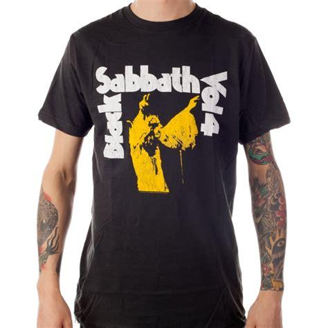 black sabbath quot vol 4 quot t shirt indiemerchstore