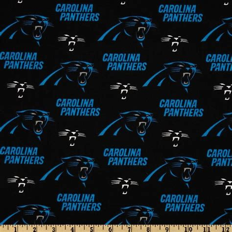 what color is carolina panthers blue nfl cotton broadcloth carolina panthers black blue