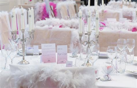 Idee Theme Mariage by Decoration Mariage Ange Et Plume Id 233 Es Et D Inspiration
