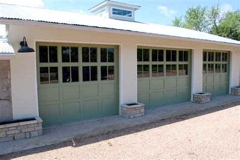 Ranch House Garage Doors by Hill Country Ranch House Doors By Cowart Door