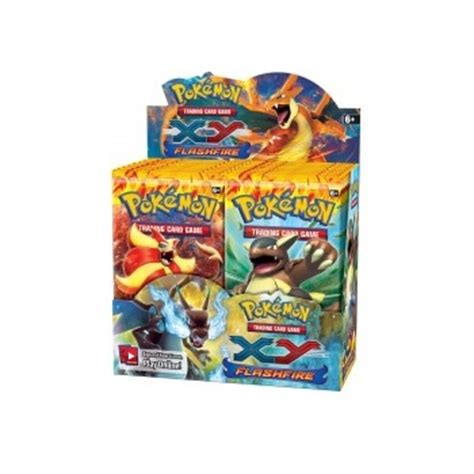 Figure Xy Flashfire sealed booster pack 10 cards xy flashfire