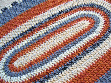 oval crochet rug pattern made oval crochet rug custom made to order 28 x 45 you your colors by margaret b rugs
