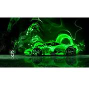 Green Fire Animal Car 2014 Hd Wallpapers Design By Tony