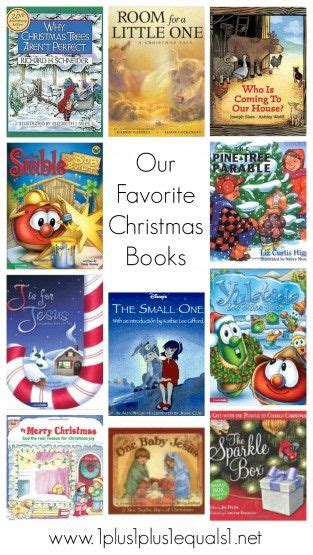 Favorite Christmas Books For Kids Christmas Pinterest
