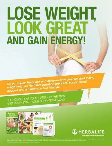 Lose Weight Look Great Gain Energy Flyer Herbalife Tansil28 Pinterest Lost Weight Herbalife Flyer Template