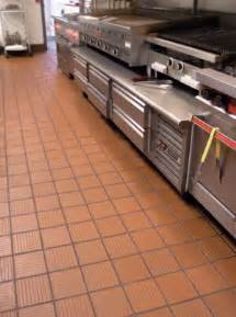 Commercial Kitchen Tile - commercial enhanced slip resisting quarry tile metropolitan ceramics by ironrock sweets