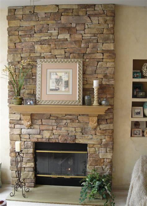 Interior Stone Walls Home Depot Decoration How To Build Stacks Stone Veneer Fireplace