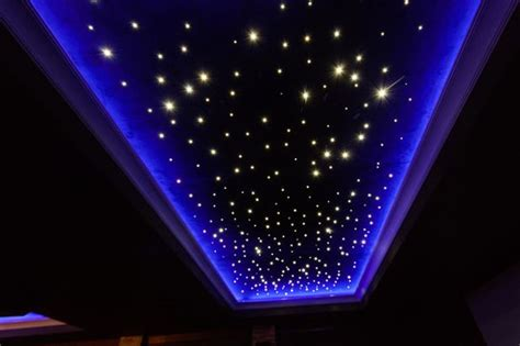 sternenhimmel beleuchtung decke sternenhimmel an der decke 7 ideen f 252 r schlafzimmer