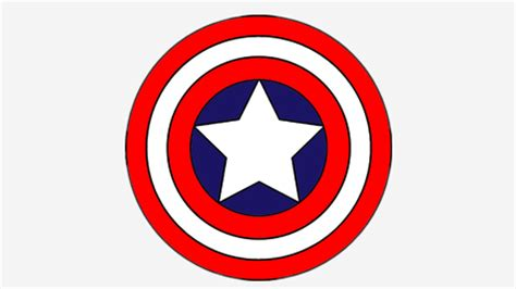 10 Amazing Captain America Coloring Pages For Your Little One Captain America Shield Color