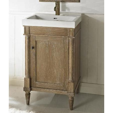 weathered oak bathroom vanity fairmont designs rustic chic 21 quot vanity weathered oak
