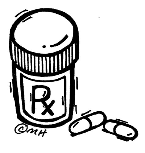 Prescription  Clip Art Gallery sketch template