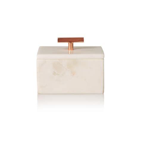 Small Marble Jewellery Box   Oliver Bonas