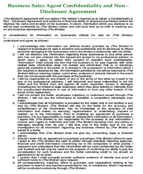 7 sle business non disclosure agreements sle