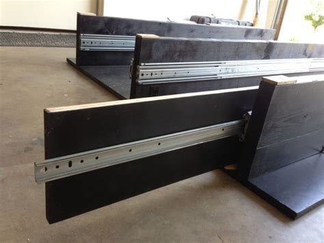 Truck Bed Drawers Diy by 25 Best Ideas About Truck Bed Storage On
