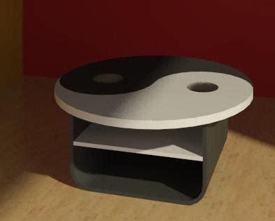 Yin Yang Coffee Table Revitcity Object Yin Yang Coffee Table