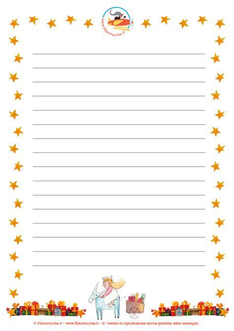 lettere santa lucia letterina per santa lucia con le righe filastrocche it