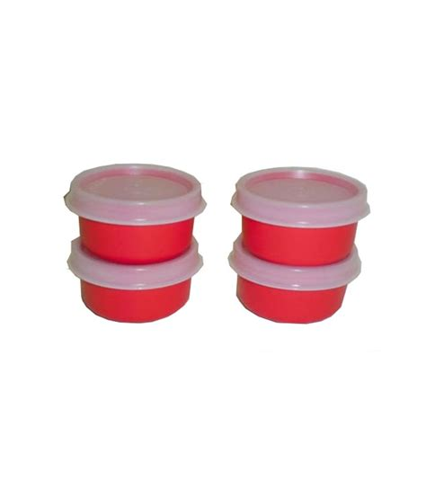 Tuppeware Mini tupperware mini bowl set condiments dips buy at best price in india snapdeal