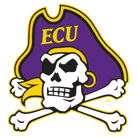 logo east carolina university pirates ecu skull head