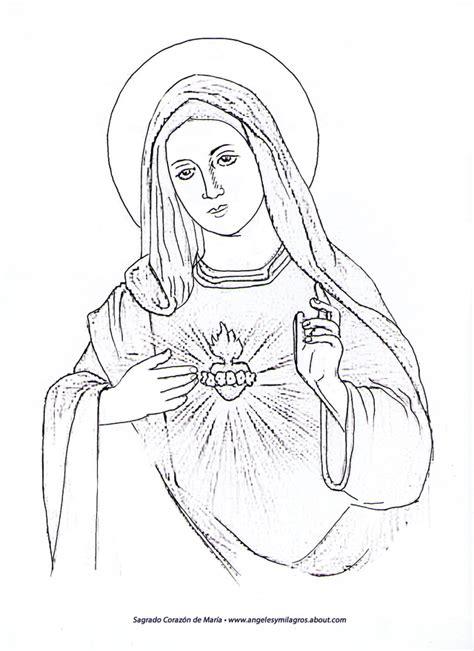 imagenes virgen maria para dibujar dibujos para colorear dibujos de virgen maria holidays oo