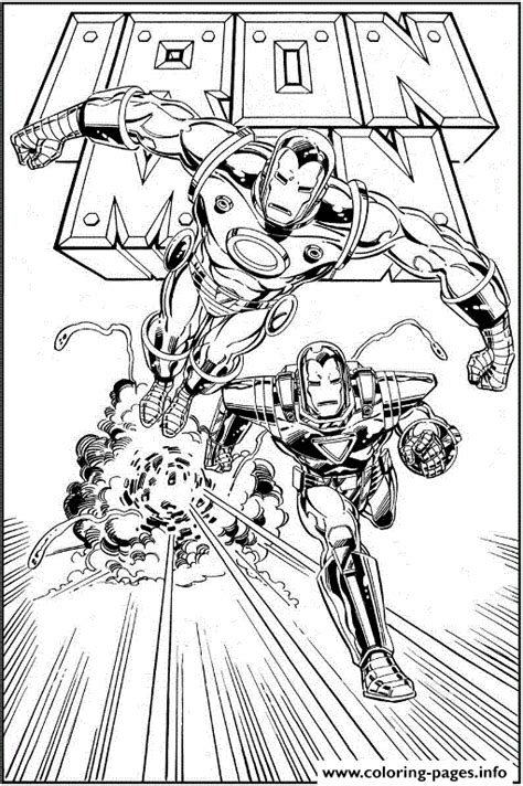 iron man comic coloring pages free iron man comic 1bf2 coloring pages printable