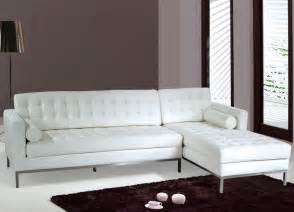 white leather chaise sofa with chaise thesofa