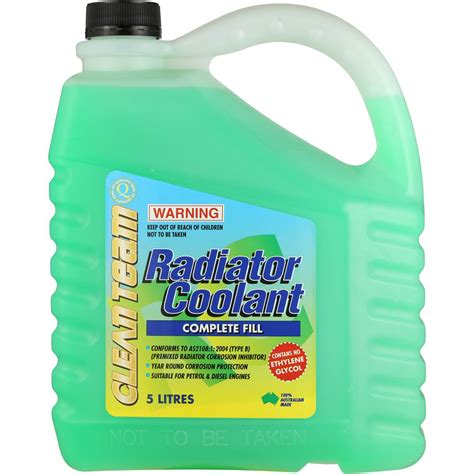 Coolant Radiator cleanteam car care radiator coolant 5l woolworths