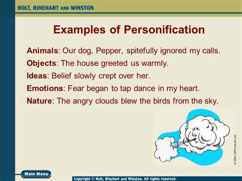 personification a human touch ppt video online download