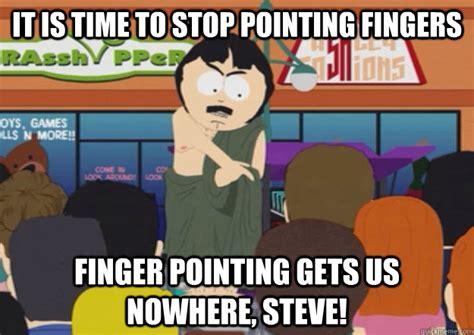 Finger Meme - finger pointing meme