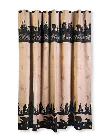 lodge curtains 28 lodge style shower curtains decosee lodge style