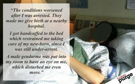 handcuffed to bed woman gave birth while in detention handcuffed to bed by