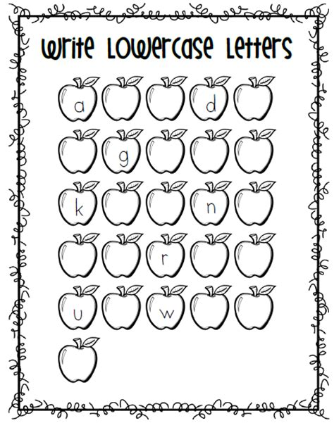 free printable missing alphabet letters mrs black s bees apples