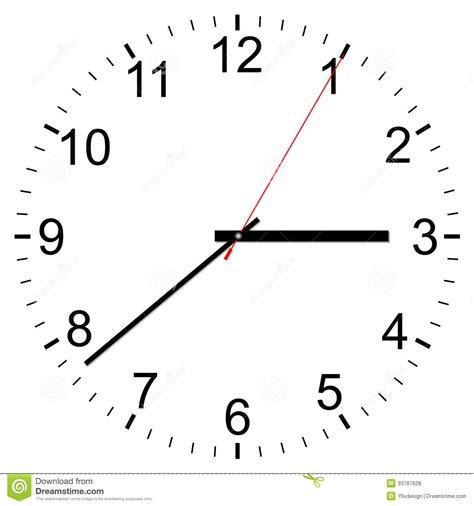 clock layout vector clock vector icon royalty free stock photos image 33787628