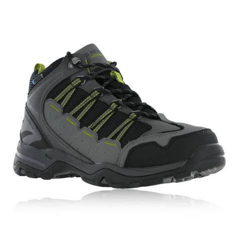 Hi Walk Outdoor Shoes hi tec forza lite mens black waterproof outdoors walking