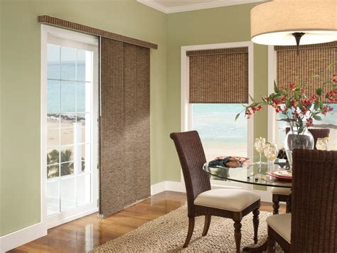 Blinds Ideas For Sliding Glass Door Window Dressing Ideas For Sliding Doors Home Intuitive