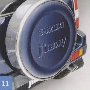 Suzuki Jimny Spare Wheel Cover Lockable Spare Wheel Cover