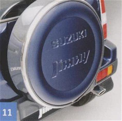 Suzuki Jimny Wheel Cover Lockable Spare Wheel Cover